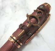 Copper steampunk fountain pen