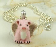When pigs have wings pendant