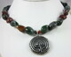 Pewter Celtic labyrinth necklace