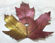 Maple leaf soap dish