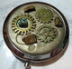Steampunk purse mirror