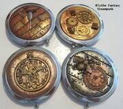 Steampunk purse mirrors