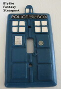 Tardis lightswitch cover